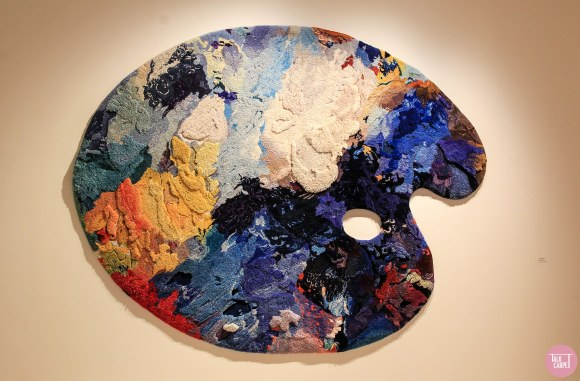 colors in interior design, Exhibit links colors from Flemish Masters to contemporary design