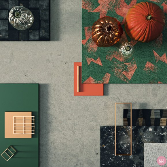 Talk Carpet Halloween mood board