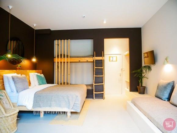 natural materials hotel design