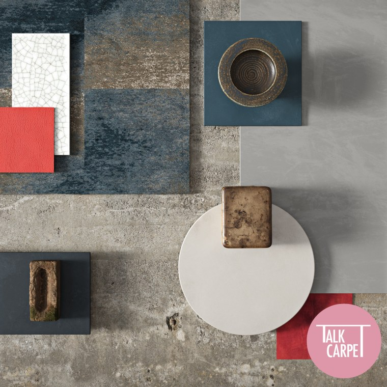 Weathered wall moodboard