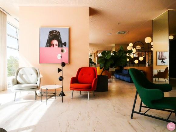 joyful interior design, Jaime Hayón adds a playful aesthetic to the Barcelo Torre de Madrid