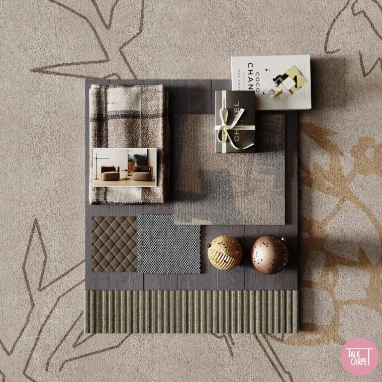 Talk Carpet Chanel Paris 2020 moodboard
