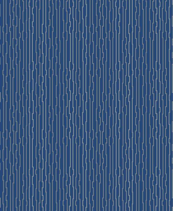 bended metal blue