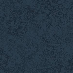 organic lace  blue