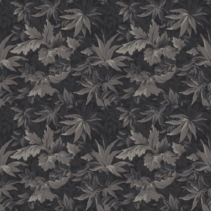 tapestry leaves  grey