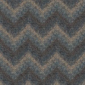 zigzag knit  blue