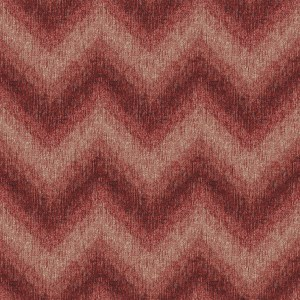 zigzag knit red