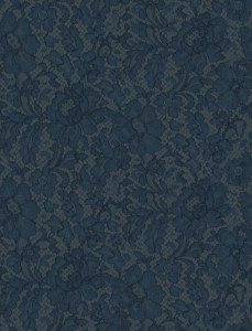 silk lace blue