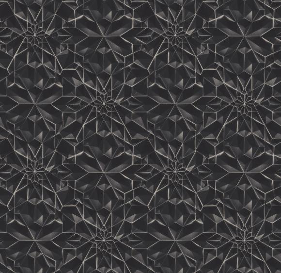 3d tile  black