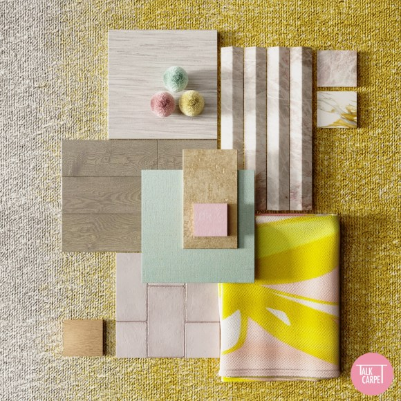 , Everyday exuberance in luxury fashion inspires this soft material palette