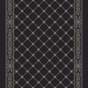 royal palace corridor 195 cm  black