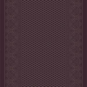paisley shawl corridor 195 cm  purple