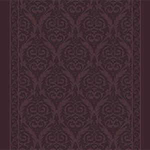 queens ornament corridor 195 cm  purple