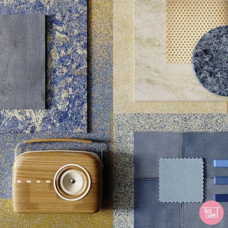 Talk carpet moodboard