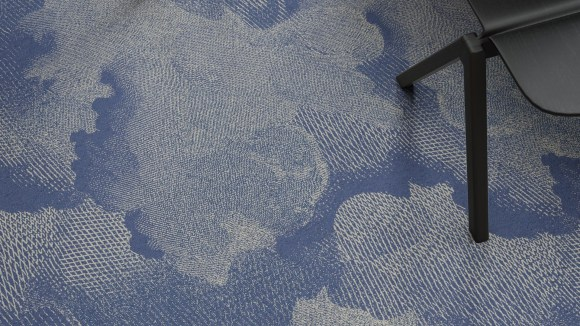 cloud carpet, Cloud carpet as backdrop for a dreamy materials palette