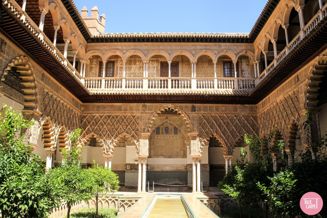 Talk Carpet Real Alcazar Seville AQ9F4774