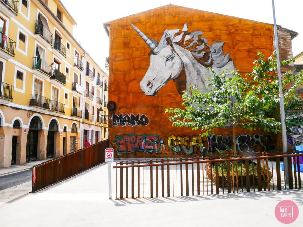 Talk Carpet street art Valencia P1020608