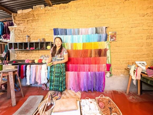 backstrap loom weaving, The group keeping traditional backstrap loom weaving alive in Guatemala