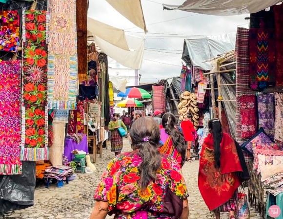 chichicastenango market, Visit Chichicastenango market, one of the largest in Latin America