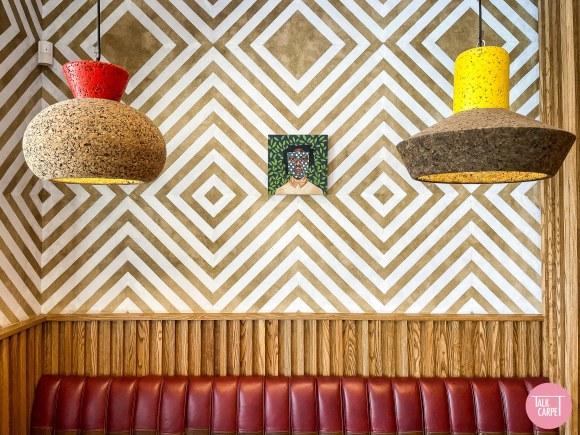 nandos rosettenville design, Nandos Rosettenville celebrates African design at their first ever location