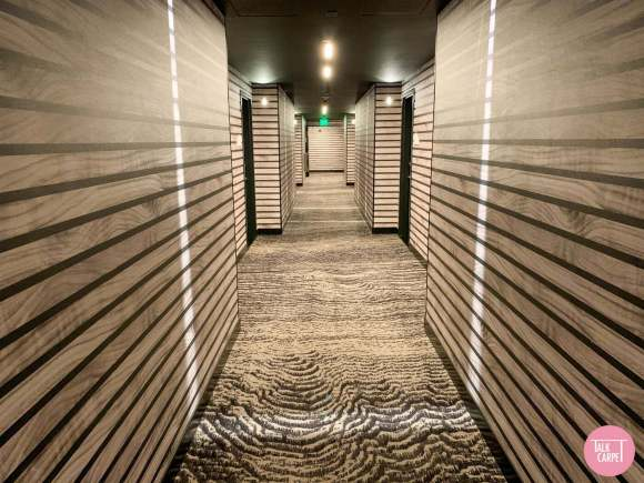 hospitality carpet, Hospitality carpet that blends artisan with fun at W Aspen