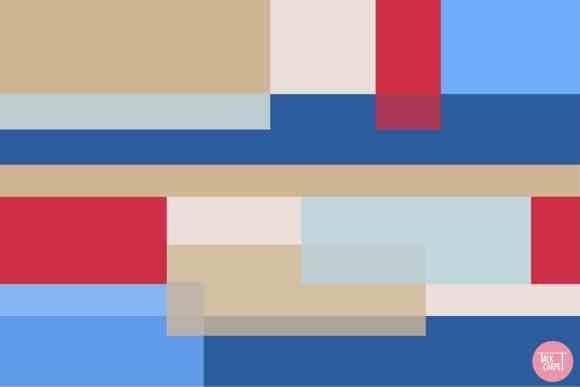 multicolor carpet, Collab alert: Chicago based Mikaela & Co designs multicolor carpet