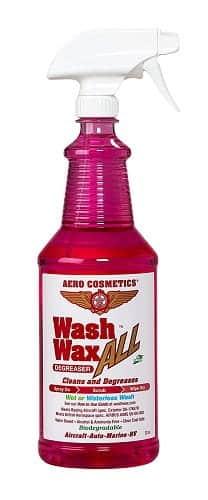 Aero Cosmetics Wet or Waterless Cleaner Degreaser