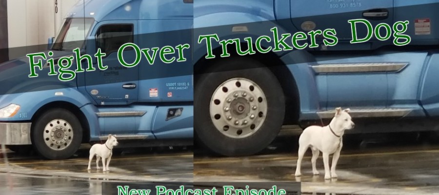Fight Over Truckers Dog