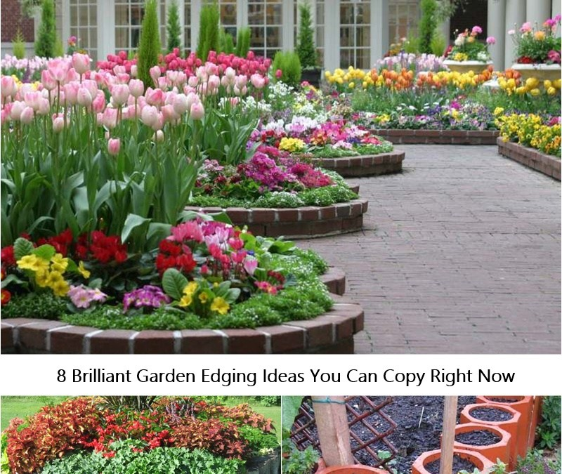 8 Brilliant Garden Edging Ideas You Can Copy Right Now