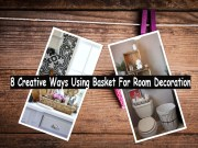 8 Creative Ways Using Basket For Room Decoration