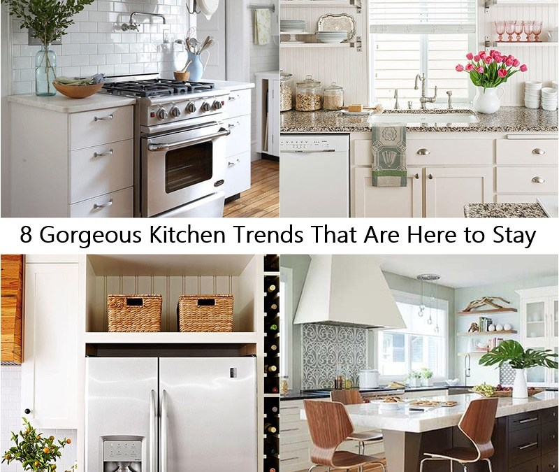 8 Gorgeous Kitchen Trends That Are Here to Stay
