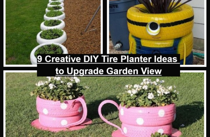 9 Creative DIY Tire Planter Ideas To Upgrade Garden View
