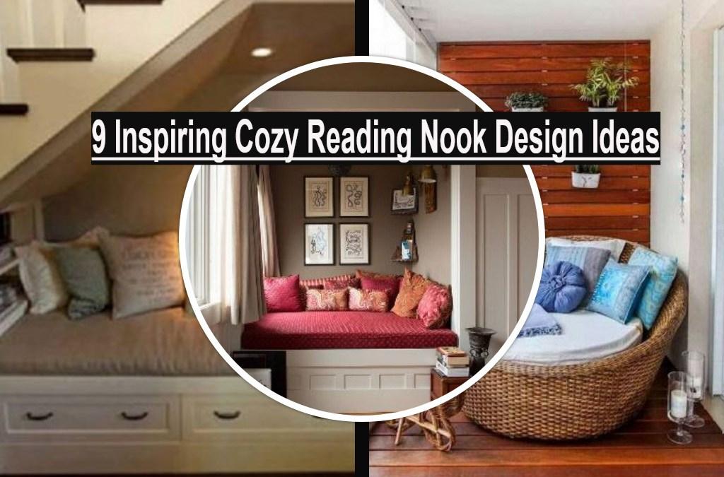 9 Inspiring Cozy Reading Nook Design Ideas