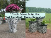 9 Simple Gabion Design Ideas That Dramatically Change Garden Look