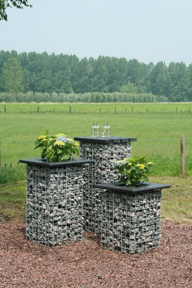 A Group Of Gabion