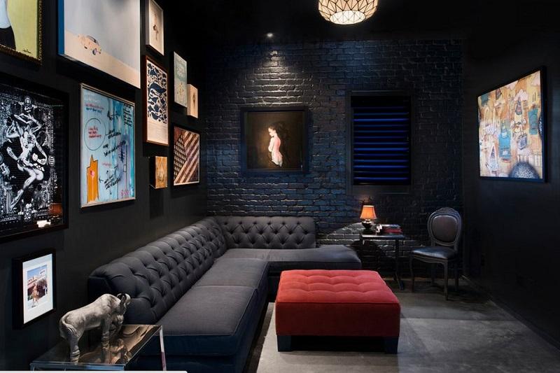 Black Media Room