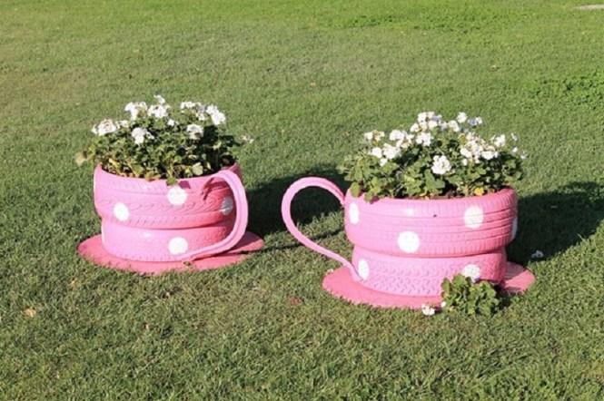 Flower Teacups
