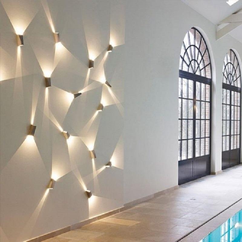 Lighting On The Wall