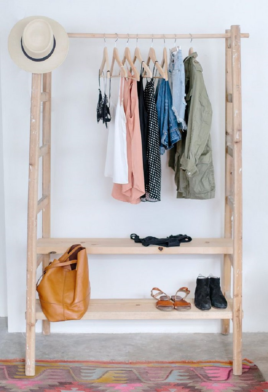 Open Concept Closet