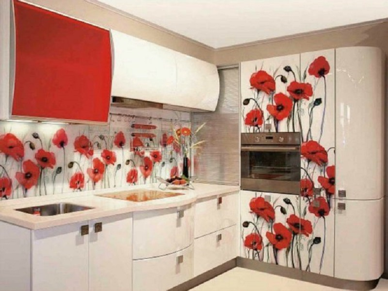 Poppies 3D Sticker
