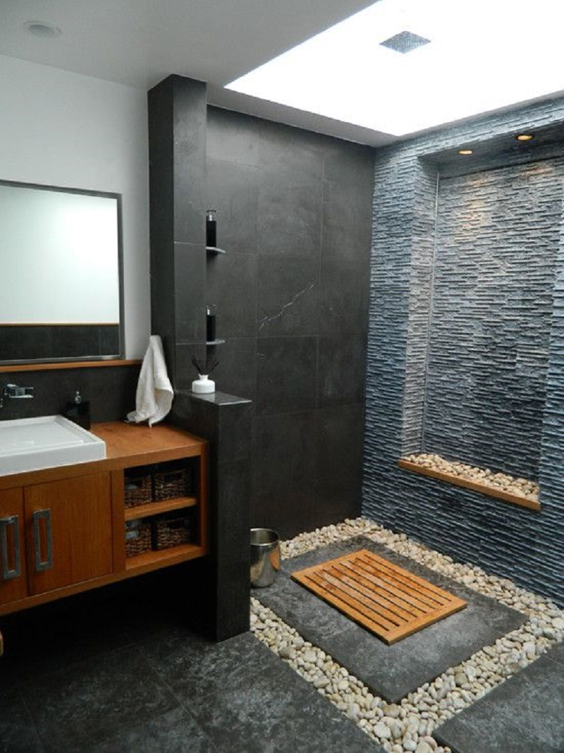 Create Warm Feeling With Wood Tiles