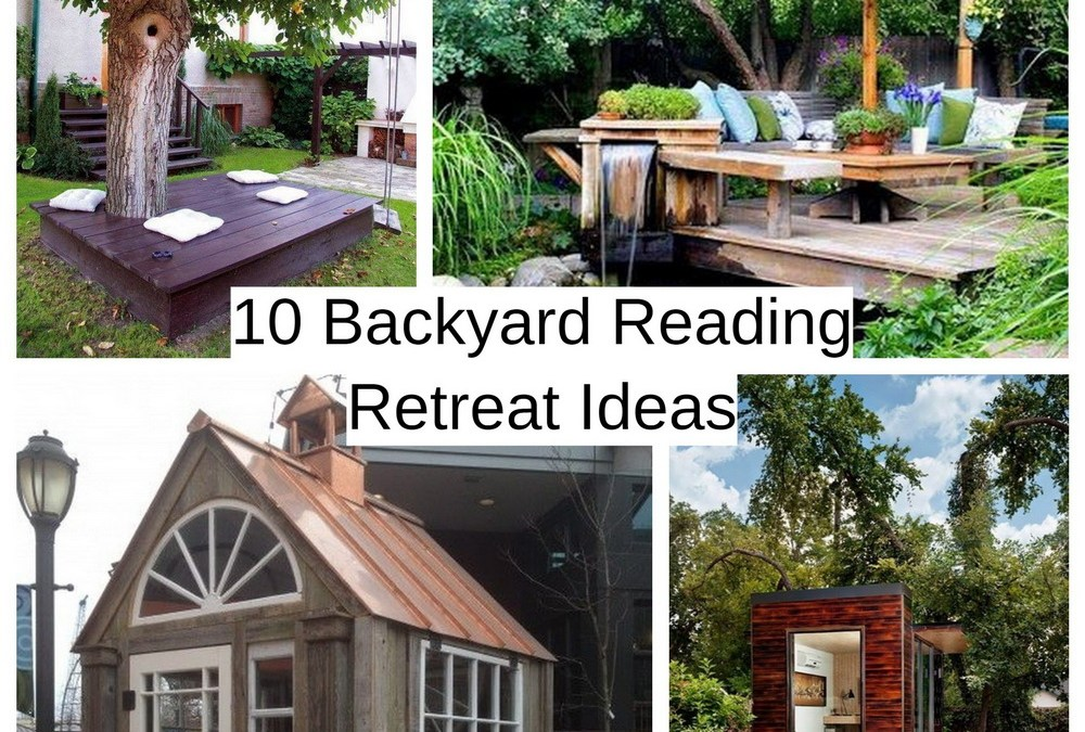 10 Backyard Reading Retreat Ideas