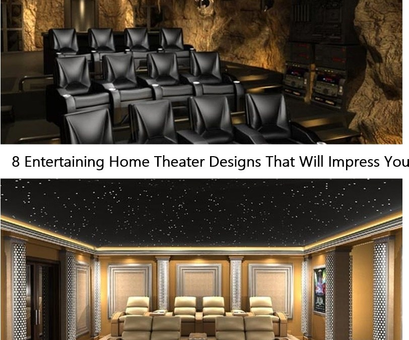 8 Entertaining Home Theater Designs That Will Impress You