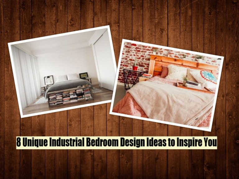 8 Unique Industrial Bedroom Design Ideas To Inspire You
