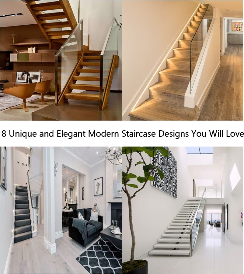 8 Unique And Elegant Modern Staircase Designs You Will