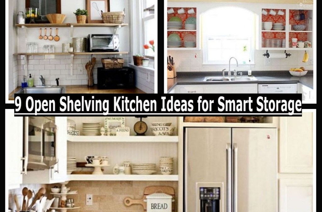 9 Open Shelving Kitchen Ideas for Smart Storage