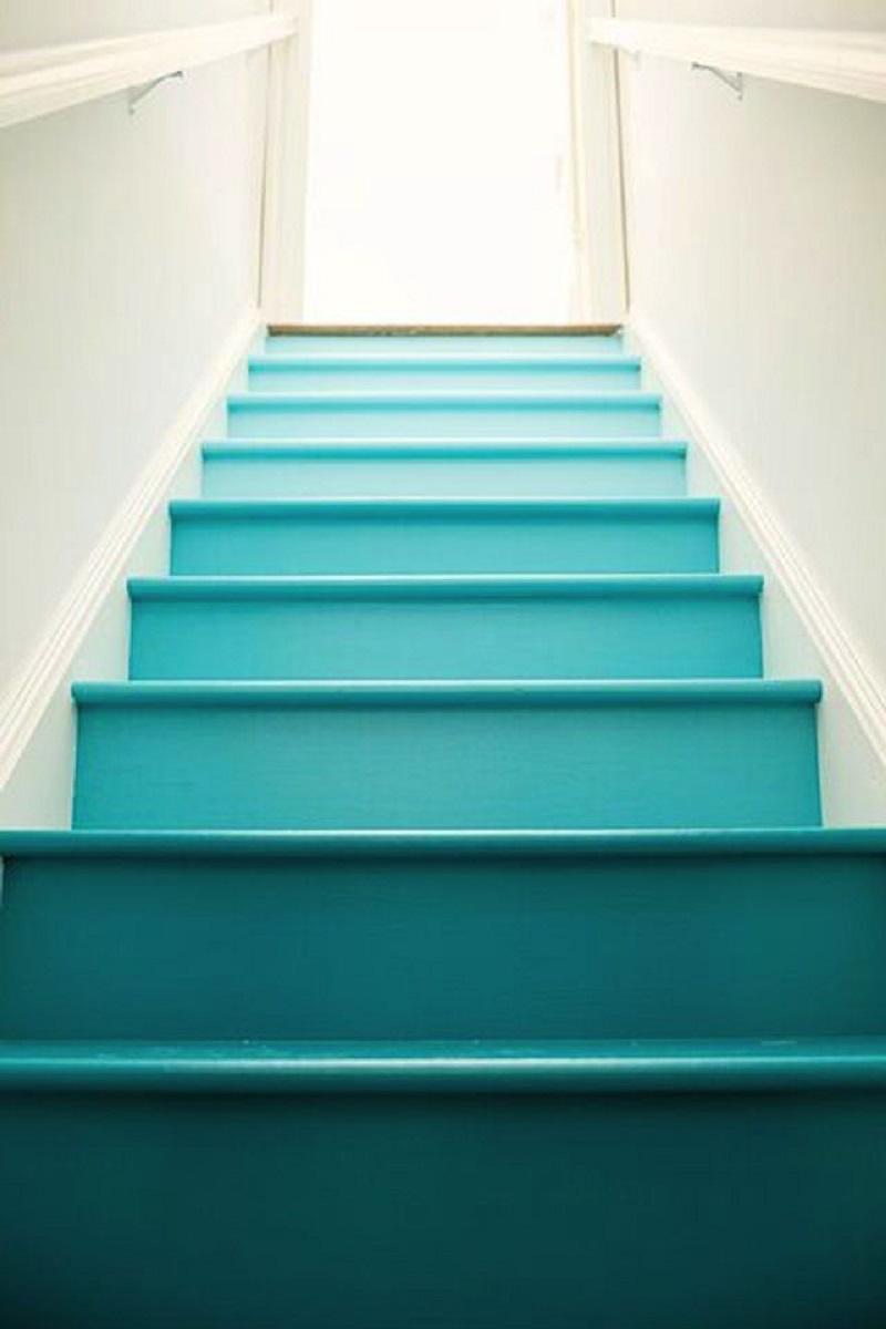 Beach Inspired Stairs