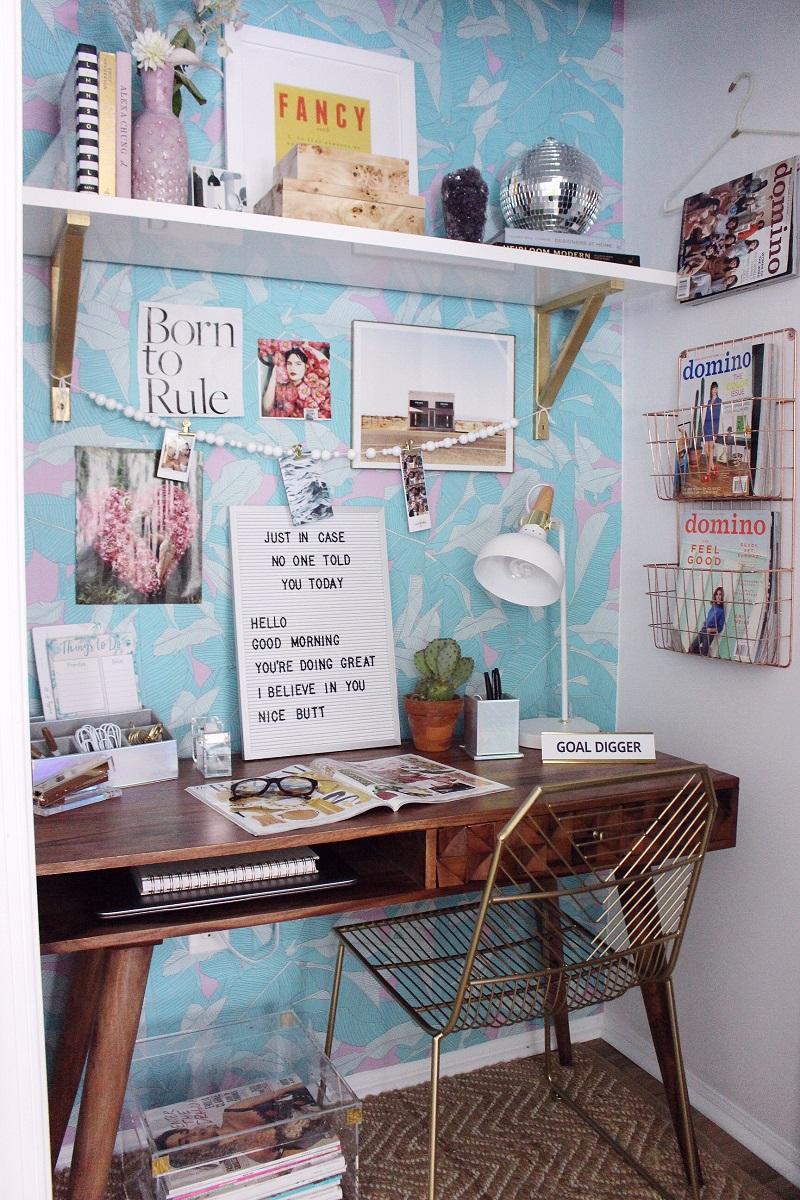 Closet Home Office