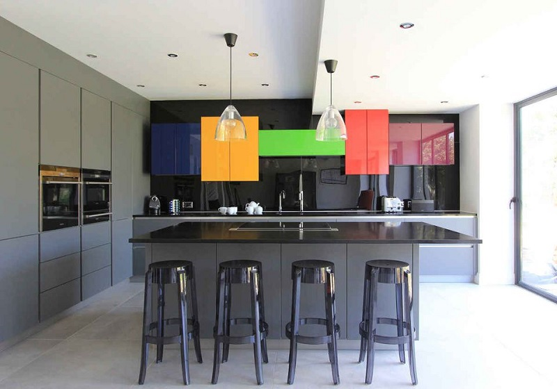 Glossy Kitchen Design