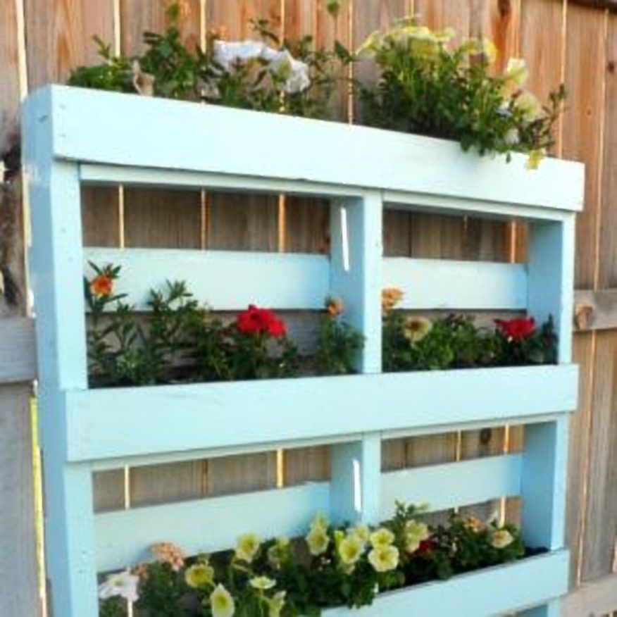 Wall Planter From Wood Pallet